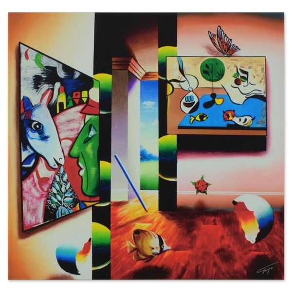 """Ferjo, """"Artist of Surreal Beauty"""" Limited Edition on Gallery Wrapped Canvas, Num"""
