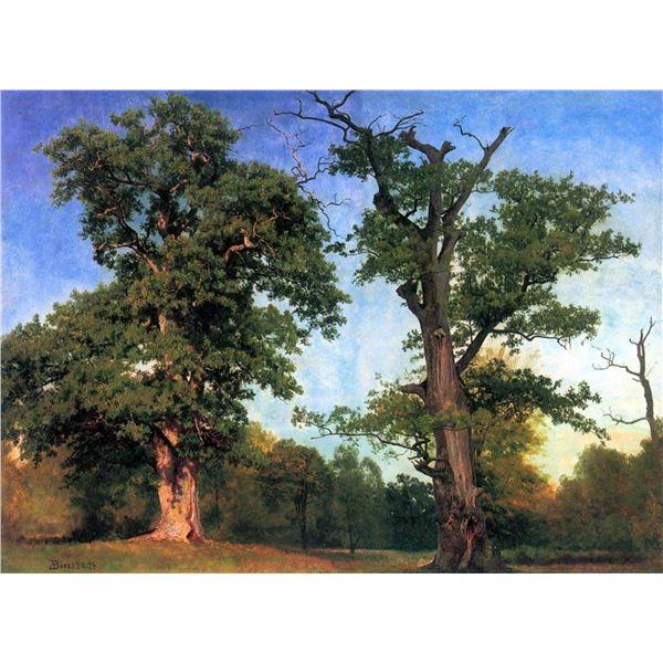 The Pioneers of Forests by Albert Bierstadt