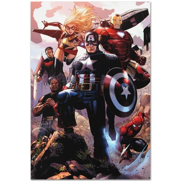 """Marvel Comics """"Avengers: The Children's Crusade #4"""" Numbered Limited Edition Gic"""
