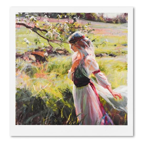 """Dan Gerhartz, """"Extending Grace"""" Limited Edition, Numbered and Hand Signed with L"""