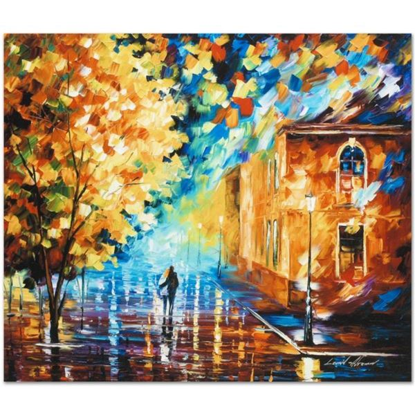 """Leonid Afremov (1955-2019) """"Through the Night"""" Limited Edition Giclee on Canvas,"""