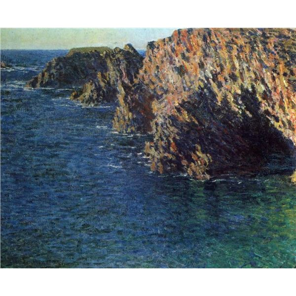 Claude Monet - Port-Domois