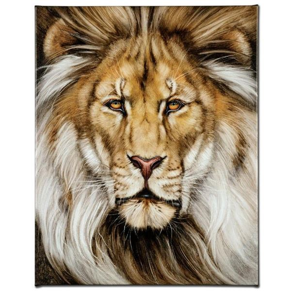 """""""Kinglike"""" Limited Edition Giclee on Canvas by Martin Katon, Numbered and Hand S"""