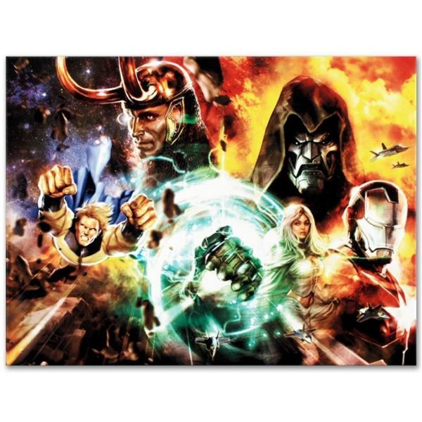 """Marvel Comics """"What If? #200"""" Numbered Limited Edition Giclee on Canvas by Dave"""