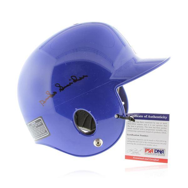Autographed Duke Snider LA Dodgers Helmet PSA Certified