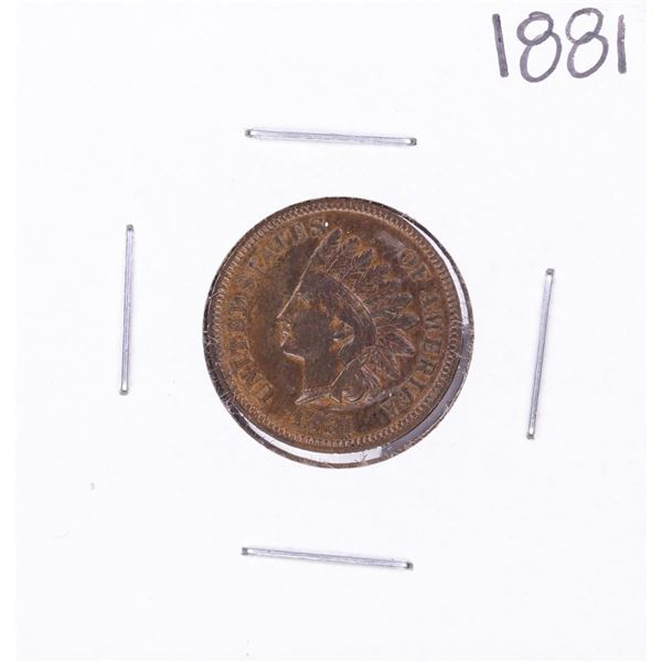 1881 Indian Head Cent Coin