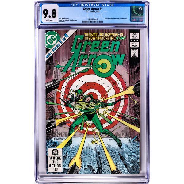 D.C. Comics Green Arrow First Solo Comic Book #1 5/83 CGC 9.8