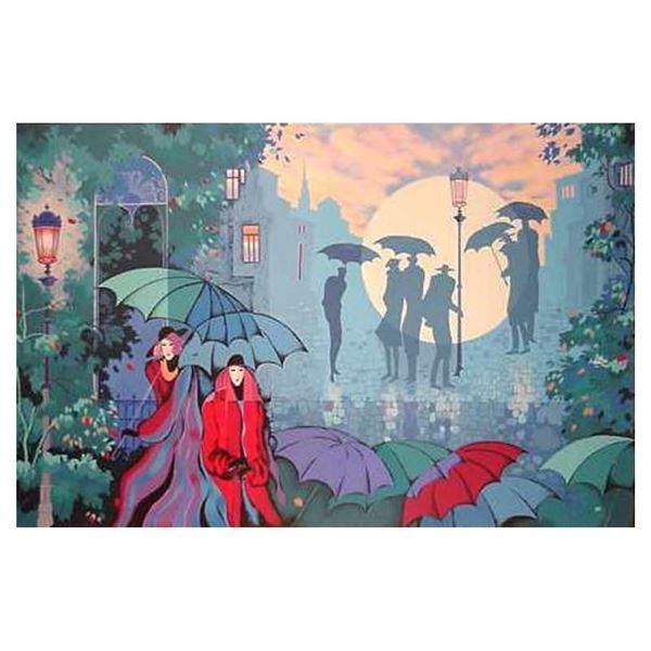 "Zina Roitman ""Paris by Night"" Limited Edition Serigraph"