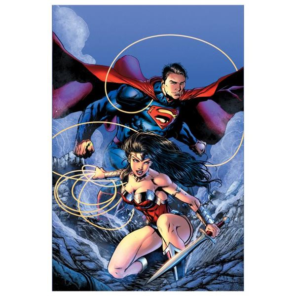 """DC Comics """"Justice League (The New 52) #14"""" Limited Edition Giclee on Canvas"""