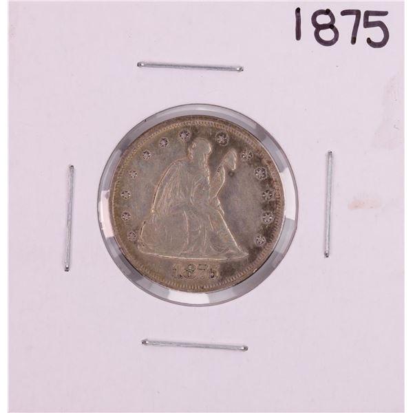 1875 Seated Liberty Twenty Cent Piece Coin