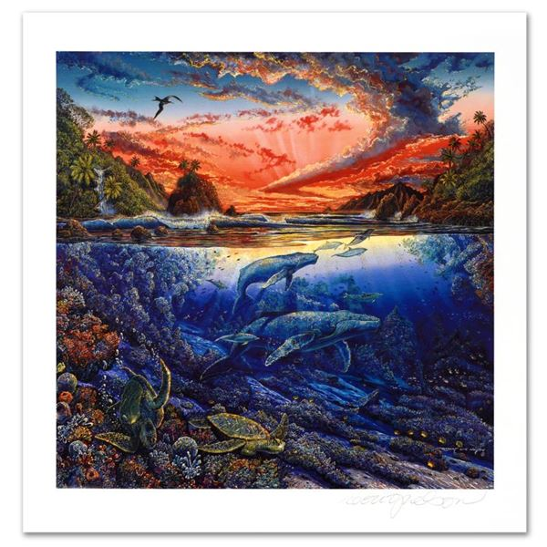 "Robert Lyn Nelson ""Hana's Secret Magic"" Limited Edition Mixed Media"