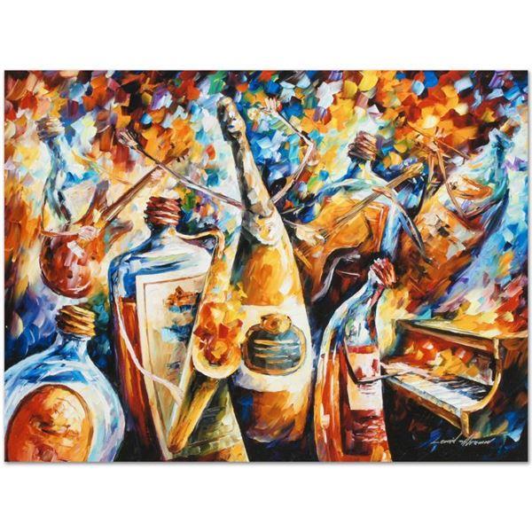 "Leonid Afremov (1955-2019) ""Bottle Jazz IV"" Limited Edition Giclee"