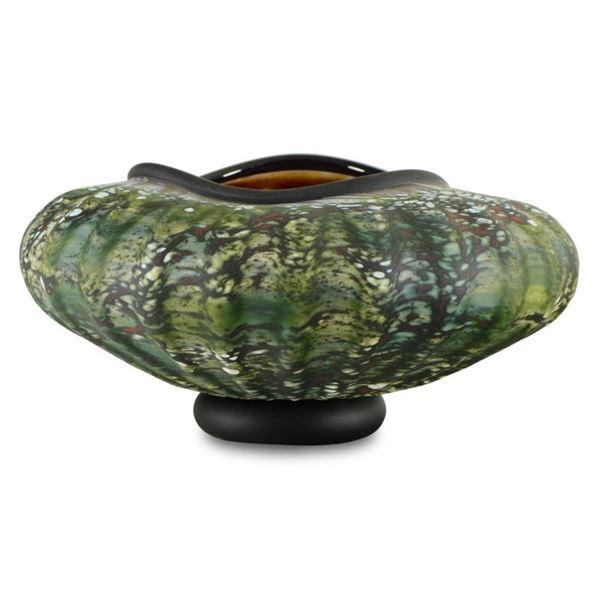 "GartnerBlade Glass ""Large Primitive Bowl"" Hand-Blown Glass Bowl"