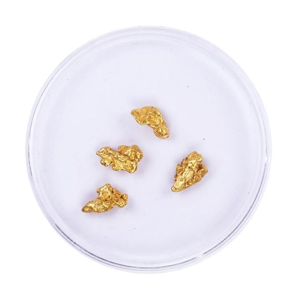 Lot of Gold Nuggets 2.47 grams Total Weight