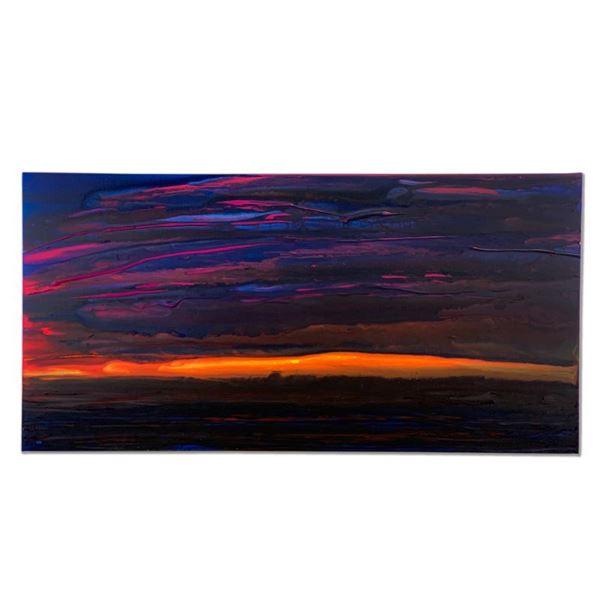 "Wyland ""Pure Surfer"" Original Acrylic on Canvas"