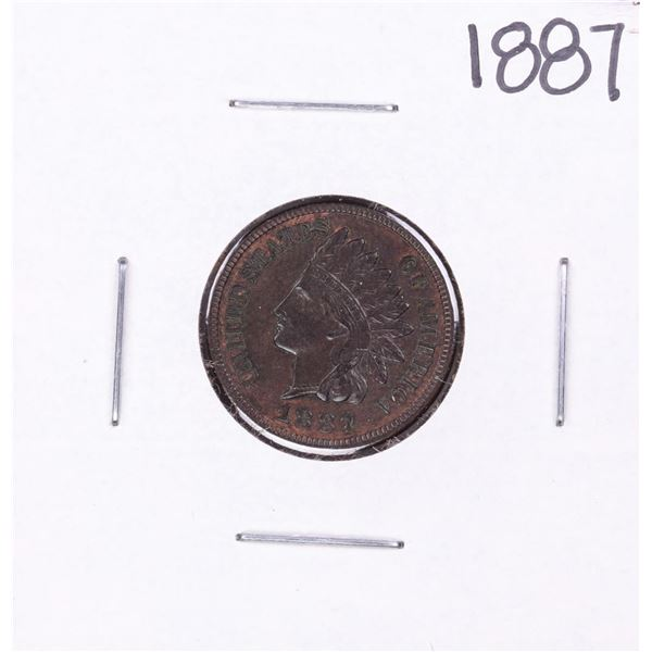 1887 Indian Head Cent Coin