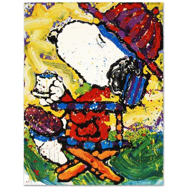"""Tom Everhart """"Tea At Bel Air - 3:00"""" Limited Edition Lithograph"""