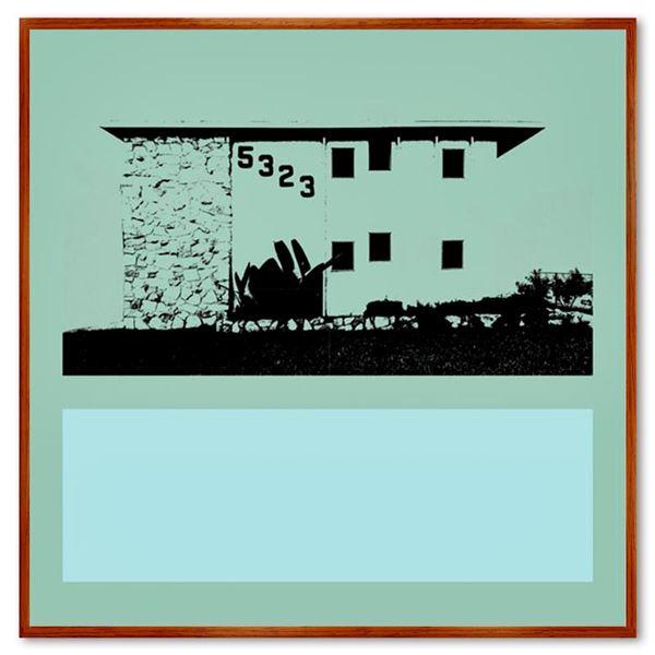 "Claudio Santini ""Dingbat 9"" Limited Edition Mixed Media on Canvas"