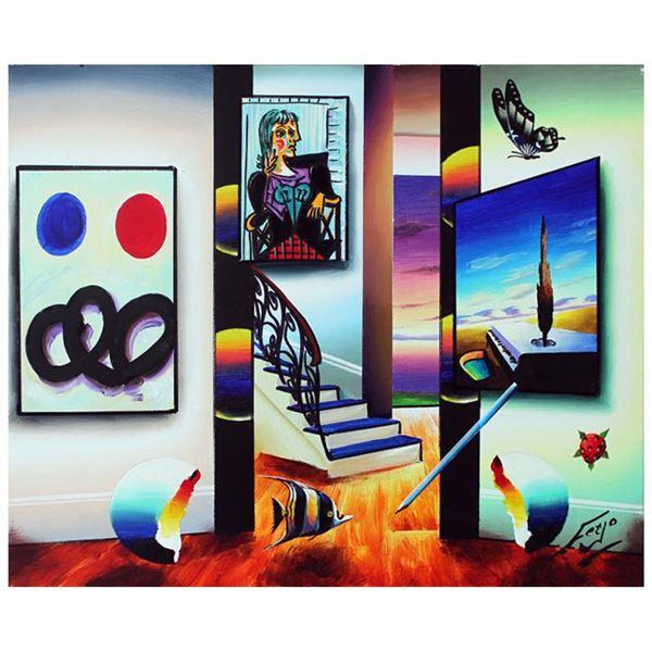 "Ferjo ""Calming Effect"" Original Oil on Canvas"