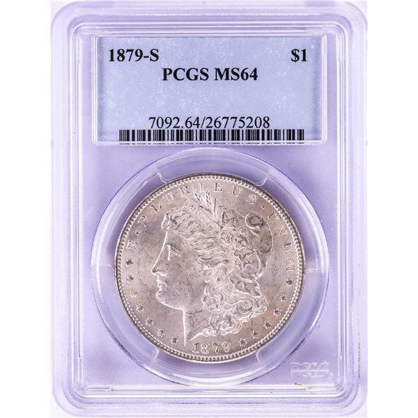 1879-S $1 Morgan Silver Dollar Coin PCGS MS64