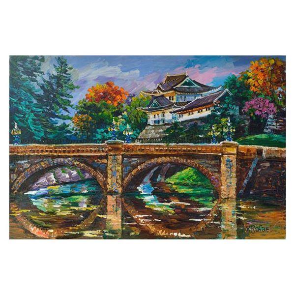 "Rafael ""Scenic China"" Original Acrylic on Canvas"