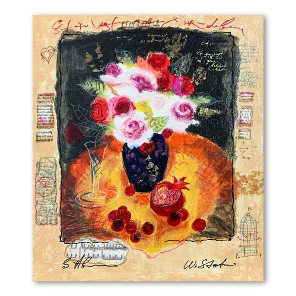"""Alexander & Wissotzky """"Red Cherries"""" Limited Edition Serigraph"""