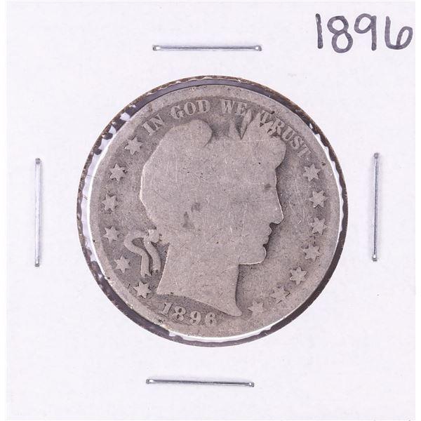 1896 Barber Half Dollar Coin