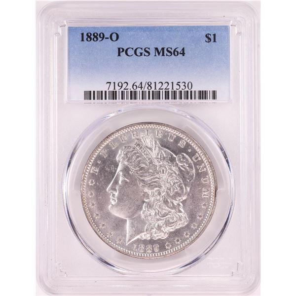 1889-O $1 Morgan Silver Dollar Coin PCGS MS64