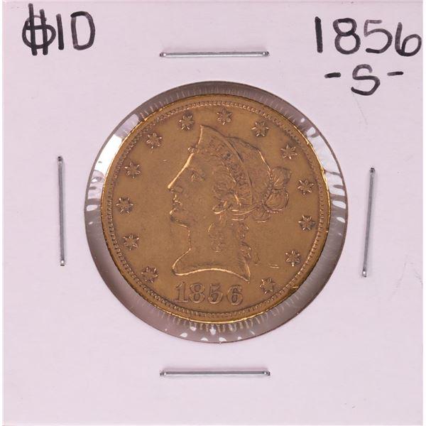1856-S $10 Liberty Head Eagle Gold Coin