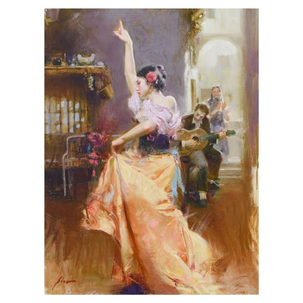 """Pino (1939-2010) """"Isabella"""" Limited Edition Giclee on Canvas"""
