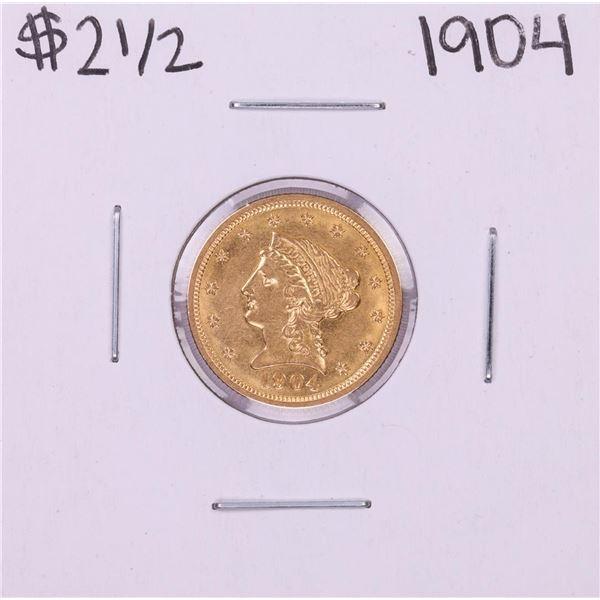 1904 $2 1/2 Liberty Head Quarter Eagle Gold Coin