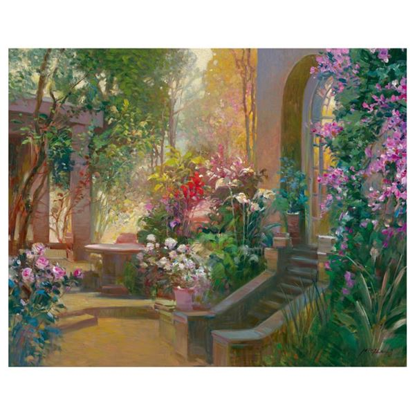 """Ming Feng """"Sunlit Passage"""" Limited Edition Giclee"""