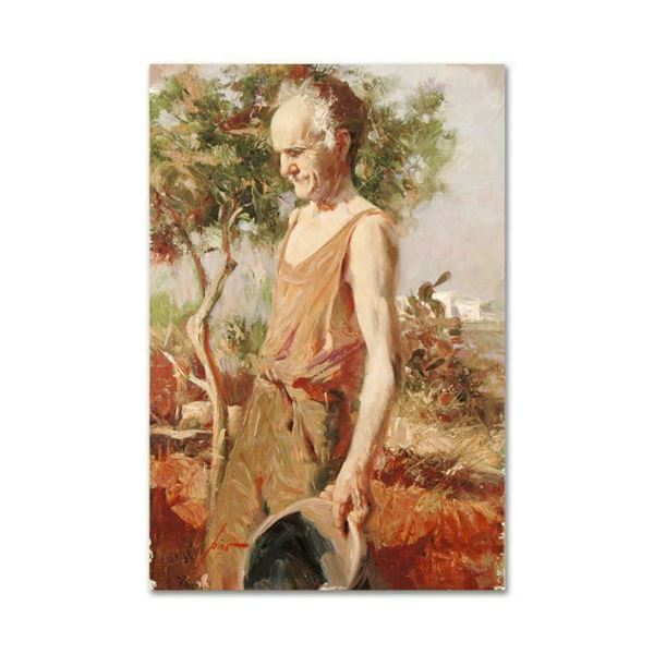 """Pino (1939-2010) """"Afternoon Chores"""" Limited Edition Giclee on Canvas"""