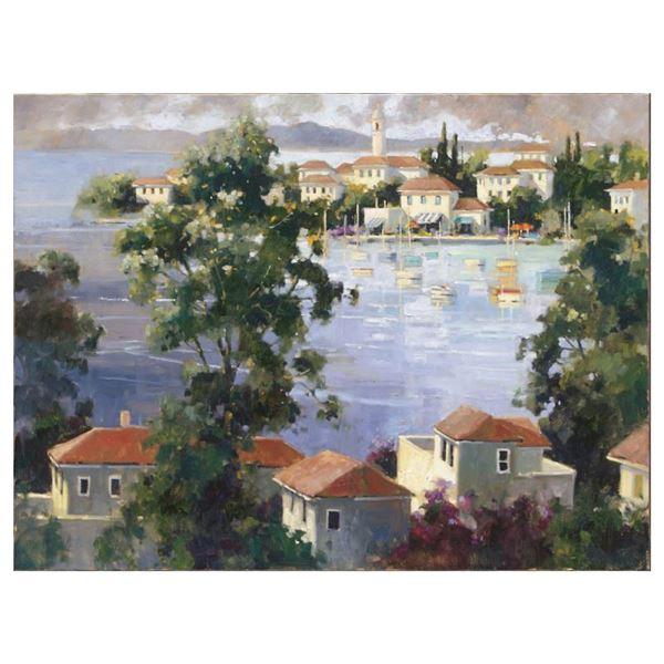 """Marilyn Simandle """"Costa Del Sol"""" Limited Edition Giclee"""