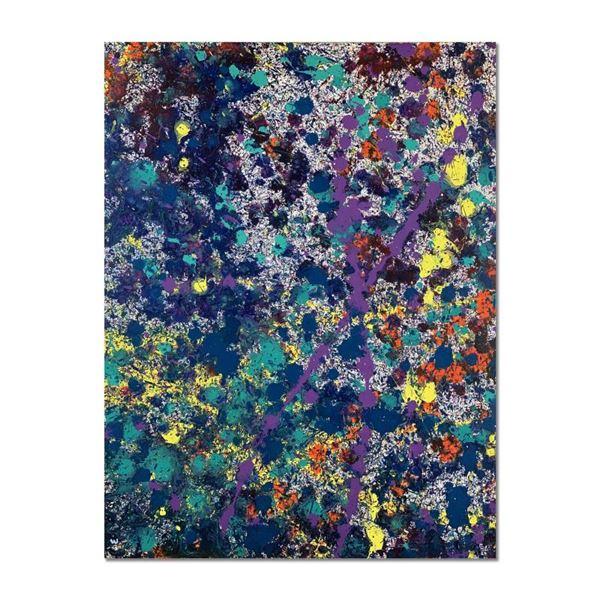 "Wyland ""Coral 16"" Original Acrylic on Canvas"