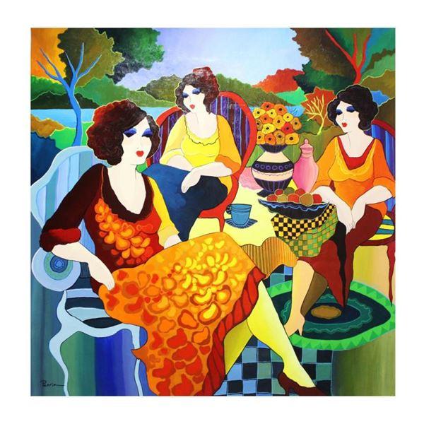 """Govezensky """"Before You Lie"""" Original Acrylic on Canvas"""
