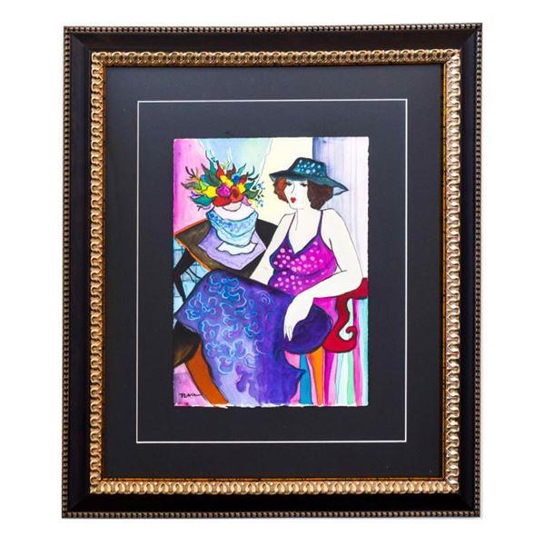 "Govezensky ""Lucie"" Original Watercolor on Paper"