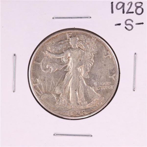 1928-S Walking Liberty Half Dollar Coin