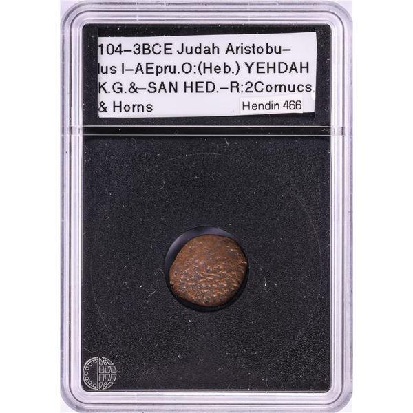 104-3BCE Judah Aristpbu Ancient Coin