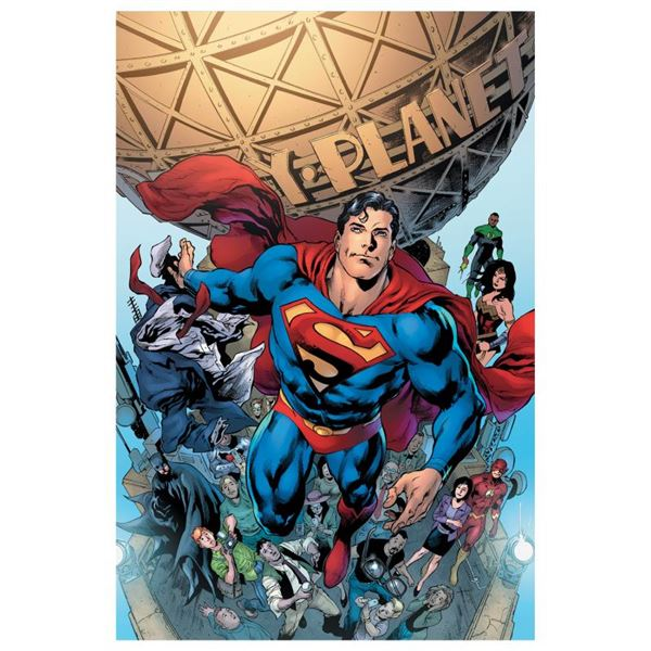 """DC Comics """"Superman #19"""" Limited Edition Giclee on Canvas"""