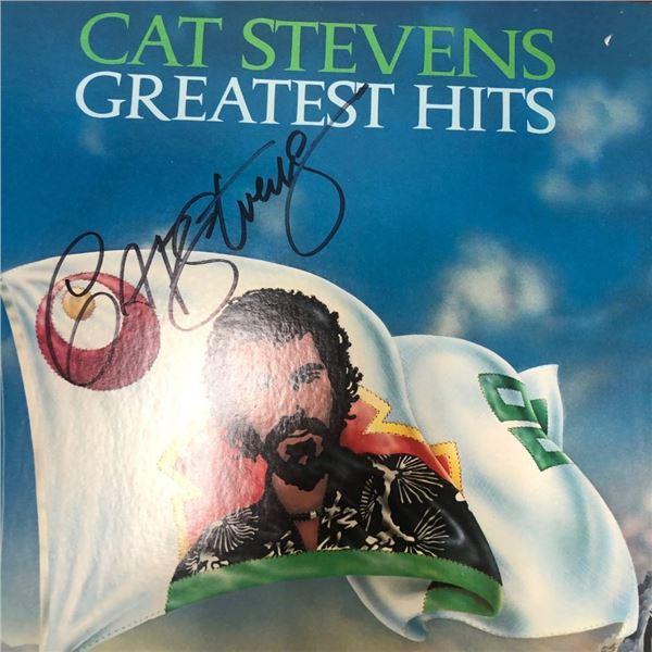 Signed Cat Stevens Greatest Hits Album