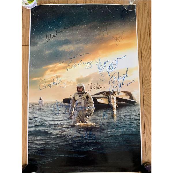 Signed Interstellar Movie Poster