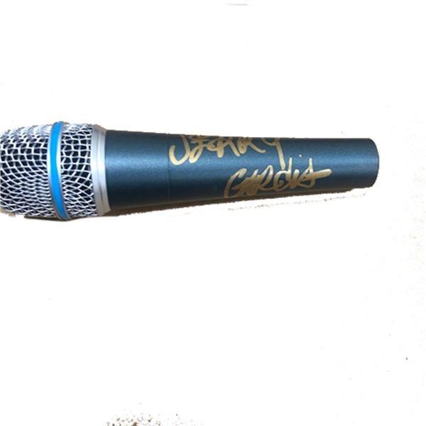 Signed Grateful Dead Jerry Garcia Microphopne