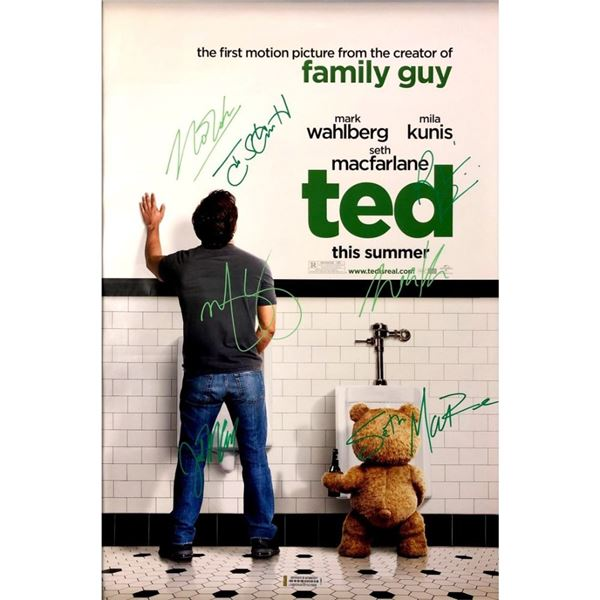 Signed Ted (Urinal) Movie Poster