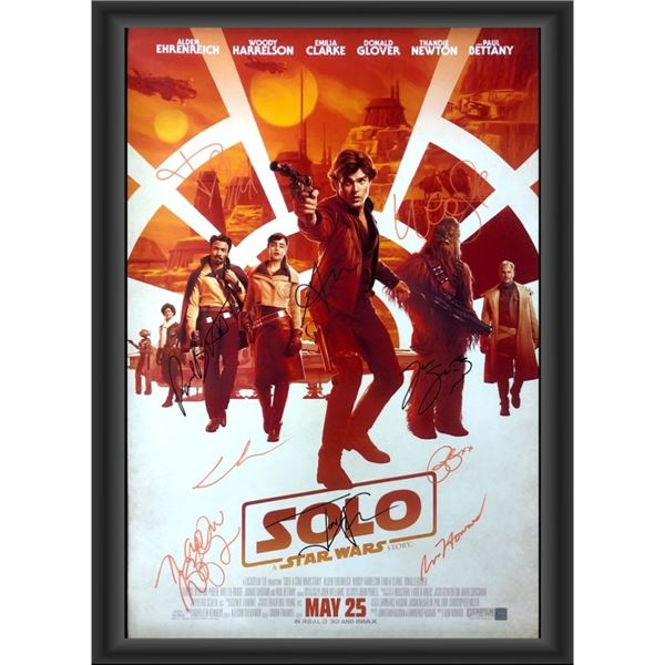 Signed Solo: A Star Wars Story Poster