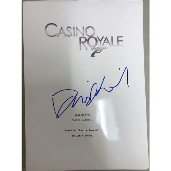 Signed James Bond Casino Royale Script