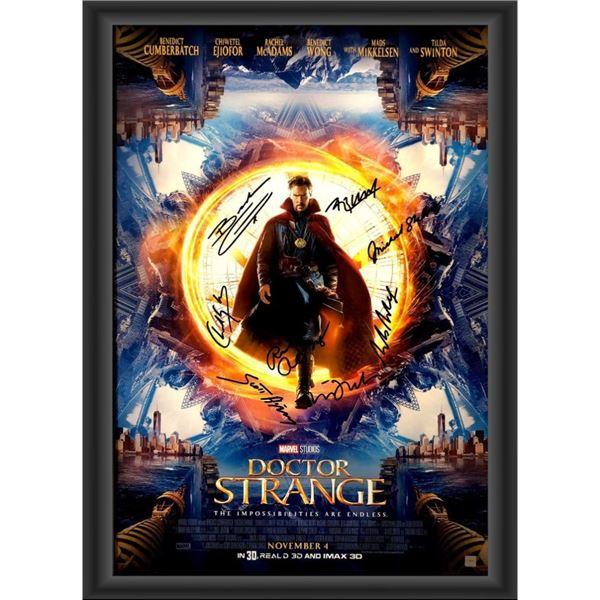 Signed Doctor Strange Movie Poster