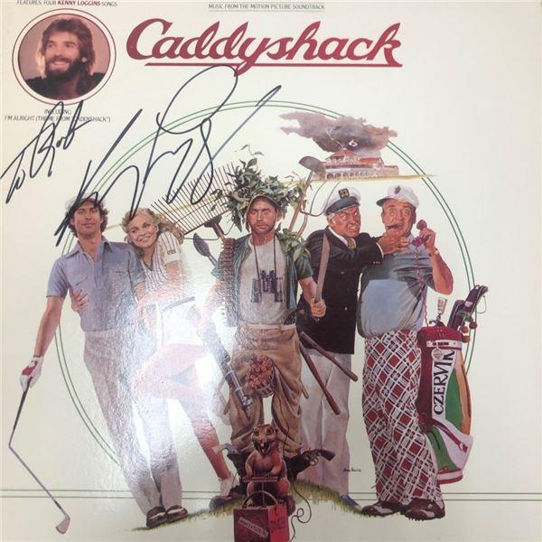 Signed Caddyshack Soundtrack Album Cover