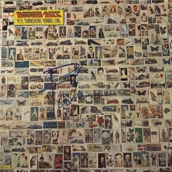 Signed Pete Townshend/Ronnie Lane Rough Mix Album Cover