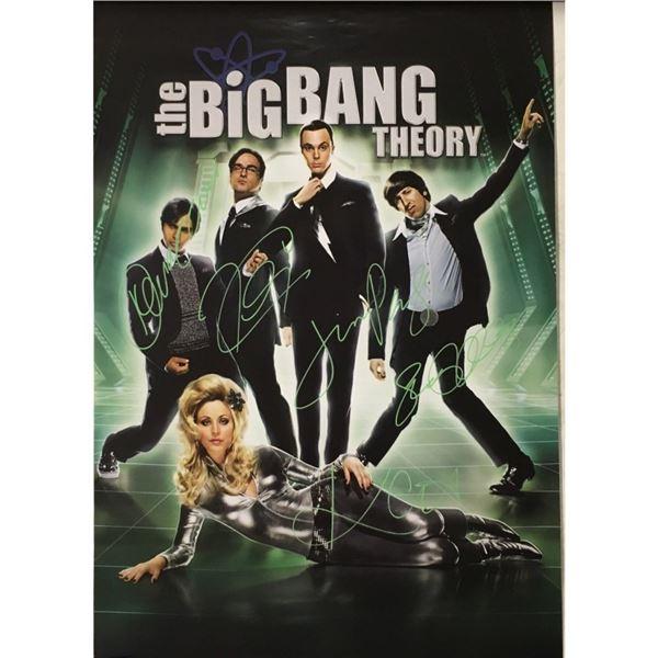 Signed The Big Bang Theory Poster